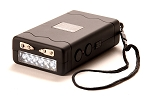 Barracuda Stingray rechargeable stun gun with 6 LED emergency light and safety/disable pin